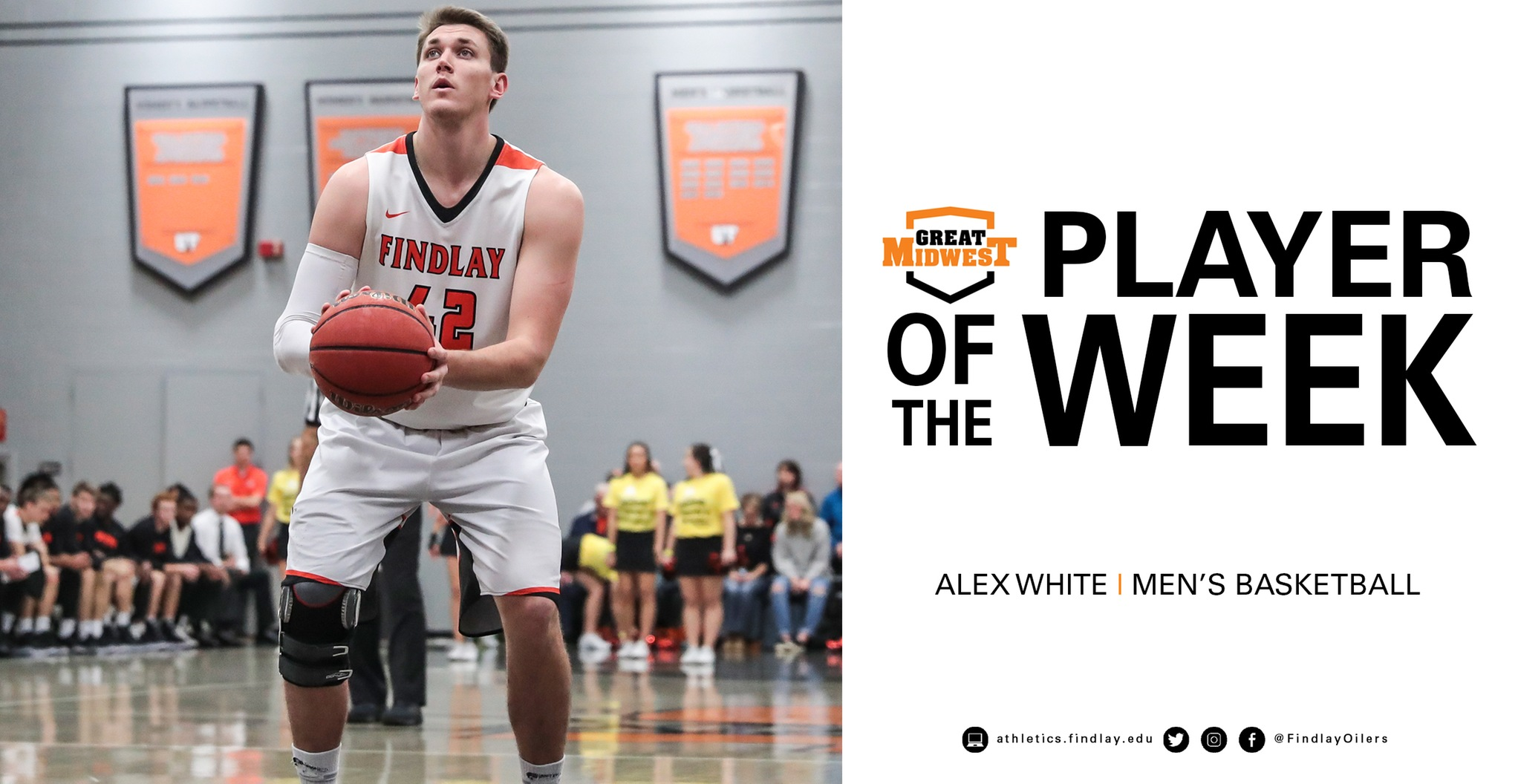 White Named Great Midwest Player of the Week