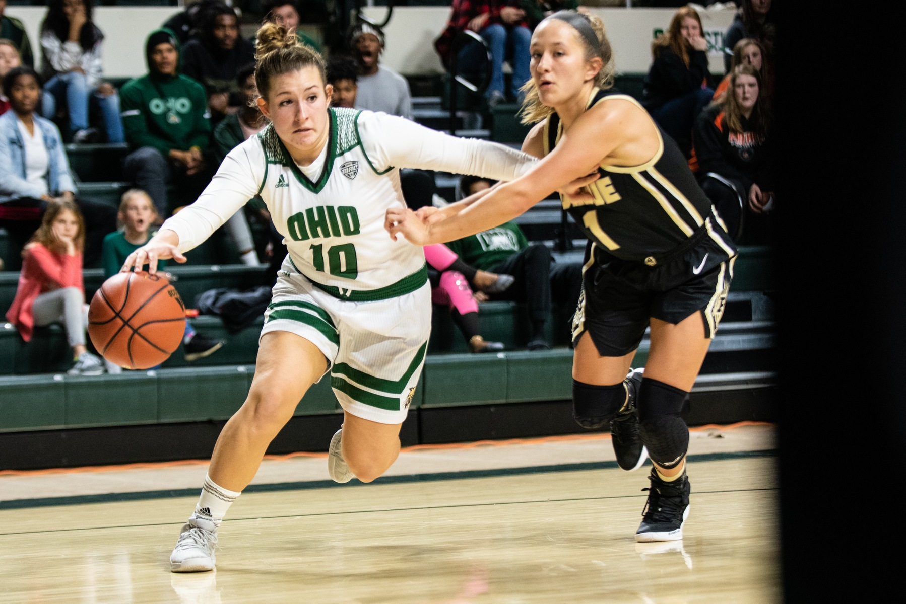 Doseck's 27 Points Pushes Ohio Women's Basketball to 77-67 Victory Over American