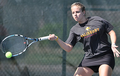 Poppe is CAC Women's Tennis Player of the Week