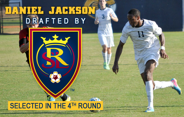 Jackson Drafted by Real Salt Lake of MLS