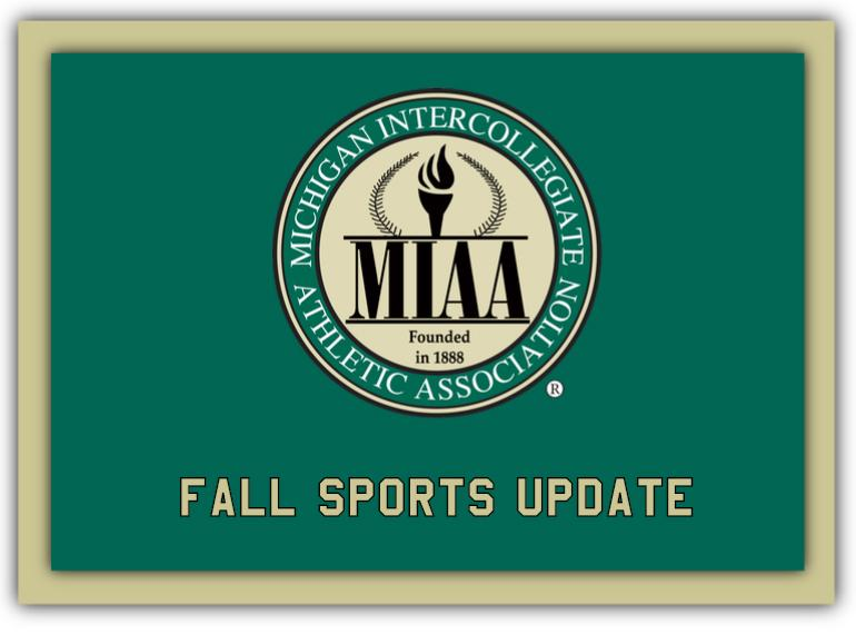The MIAA Postpones Fall 2020 Conference Competitions and Tournaments