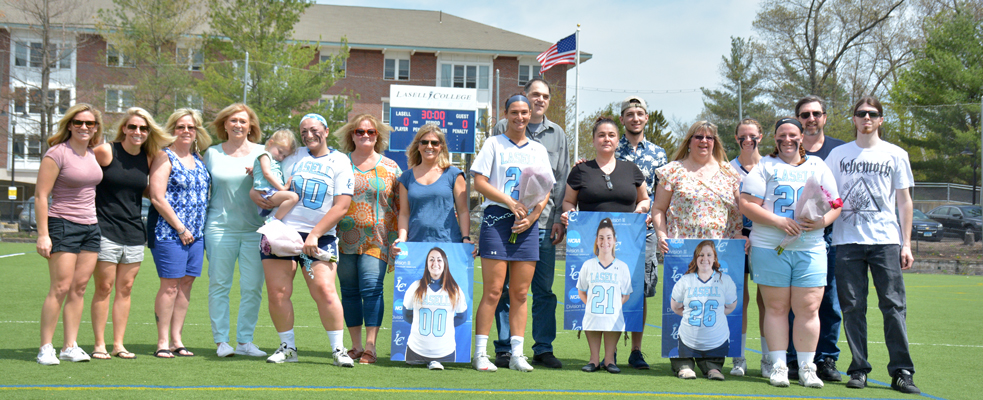 Women's Lacrosse Honors Three Seniors in 19-5 Victory over Mount Ida