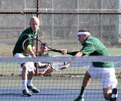 Yeshiva remains perfect with win over Sage in men's tennis action