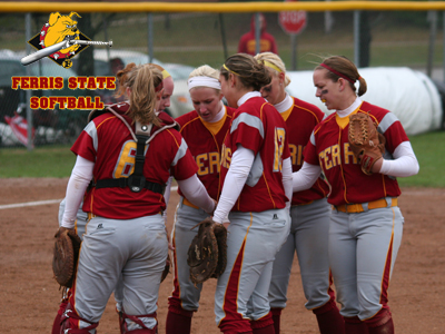 Bulldogs were scheduled to host Wayne State this Sunday afternoon in a league doubleheader.  (Photo by Eric Carlson)