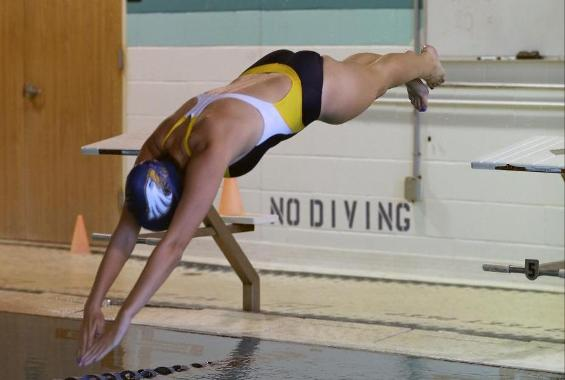 Women's Swimming Defeats Old Westbury and New Rochelle in Double-Duel