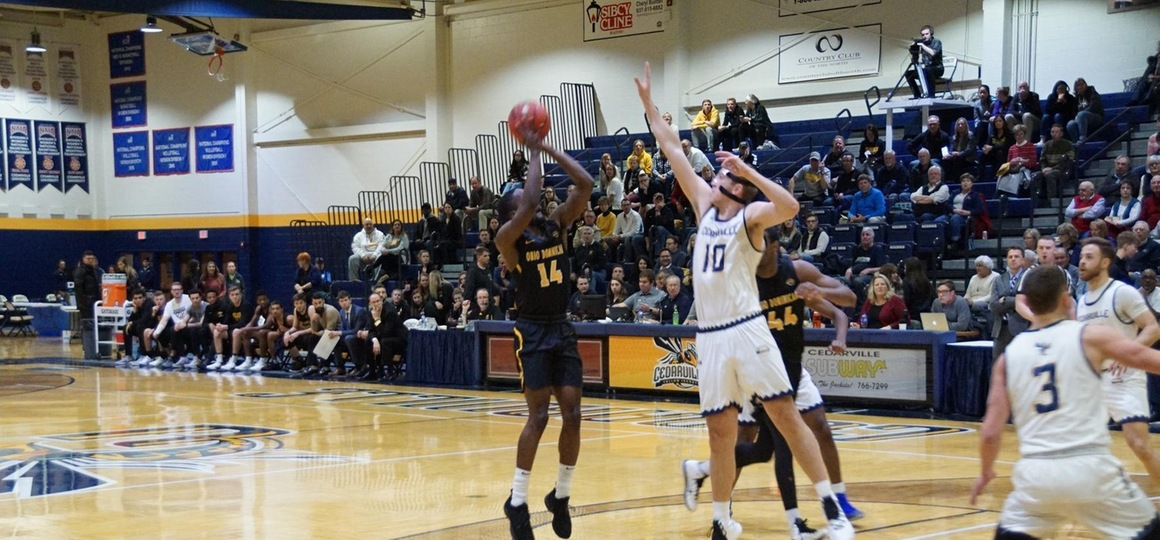 Men's Basketball Falls at Cedarville