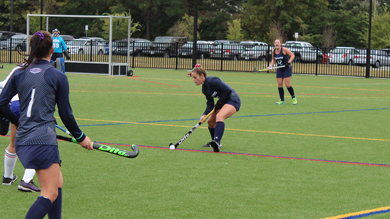 Field Hockey Takes First Loss to Wesley