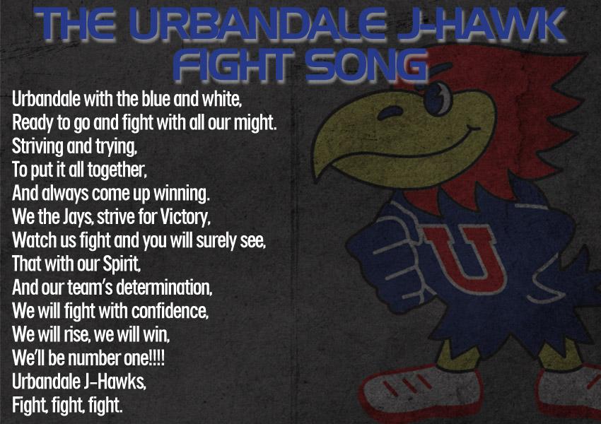 Lyric high school fight song lyrics : Urbandale