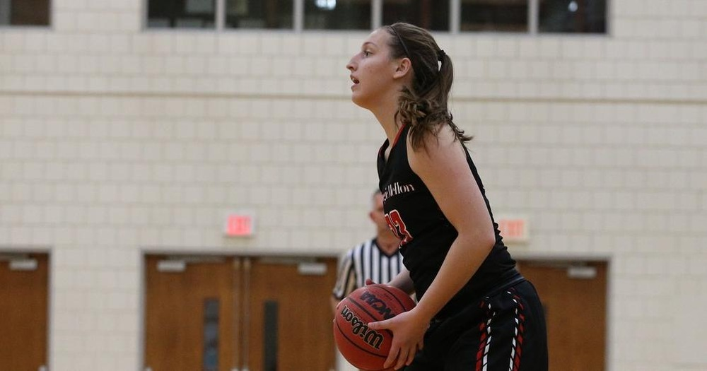 Weslock Scores 17 as Tartans Fall in Championship Game of the Marriott Columbus Airport Holiday Tournament
