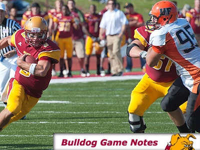Football Game Notes: GVSU (Oct. 23)