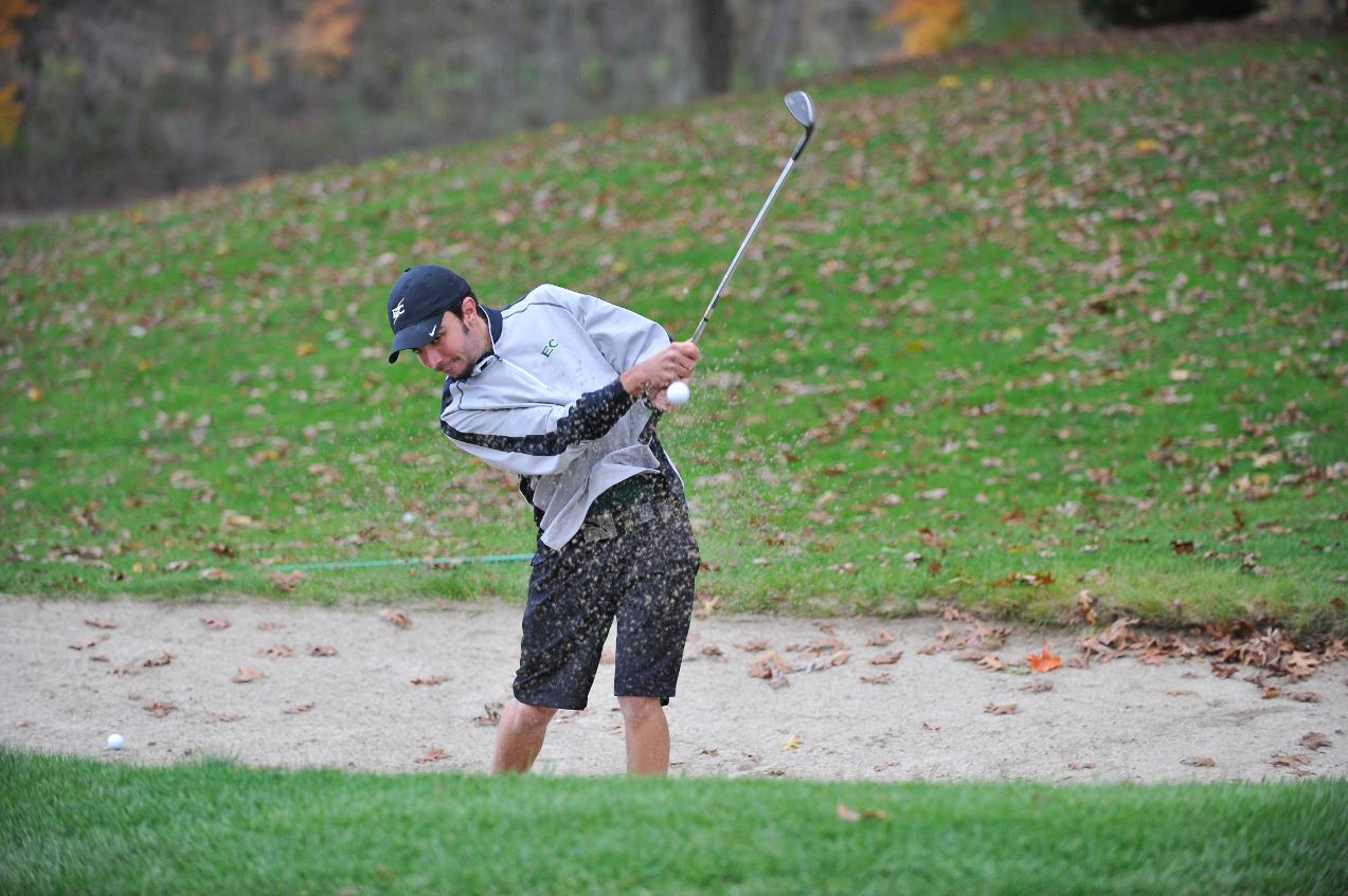 Men's Golf Ninth After First Round of Blazer Invitational