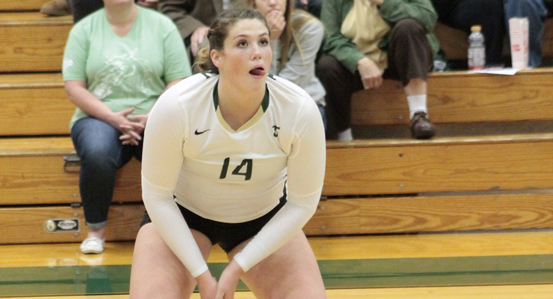 Amanda Curry tied a season high in kills with 19 as Tiffin moved a step closer to qualifying for the GLIAC Postseason Tournament.
