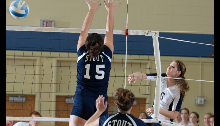 Volleyball Falls Short to 13th-Ranked UW-Whitewater