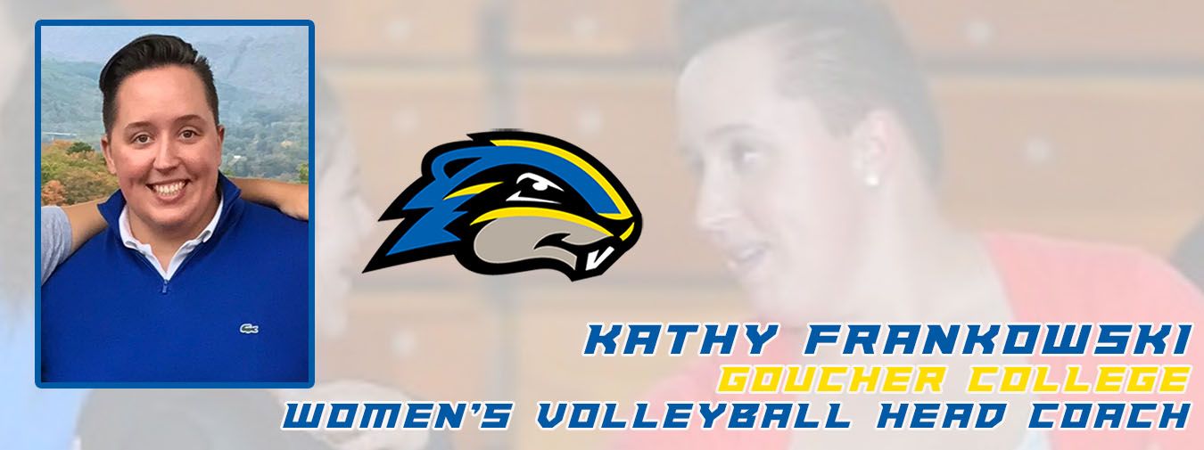 Kathy Frankowski Named Goucher College Women's Volleyball Head Coach