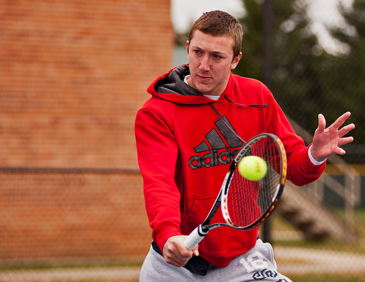 Allen seizes win at no. 5 singles, but Newberry plows past C-N