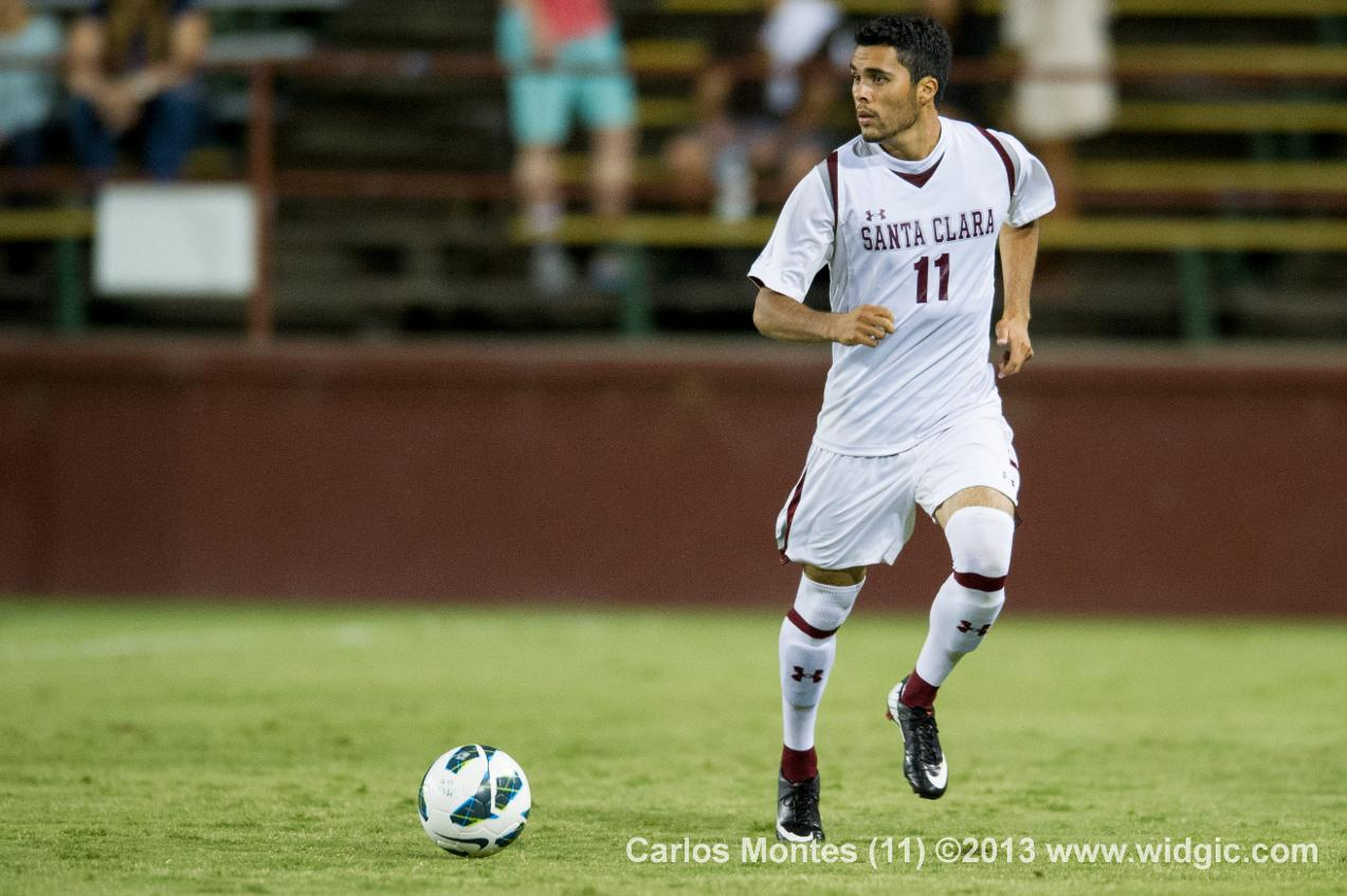 Carlos Montes Named WCC Men's Soccer Player of the Week