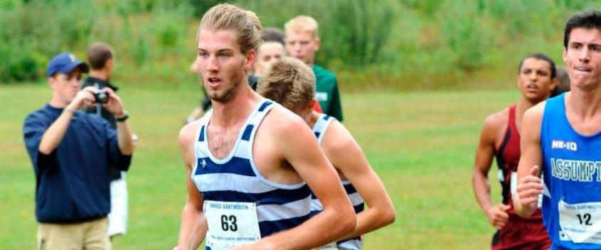 Mik Kern '13 during cross country season (photo by Sportspix.biz)
