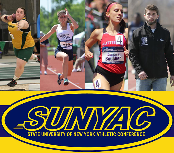 SUNYAC announces women's outdoor track & field awards