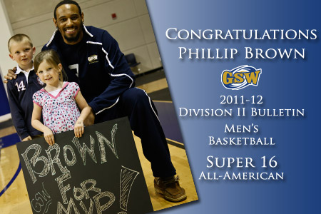 Brown named to D-II Bulletin Super 16