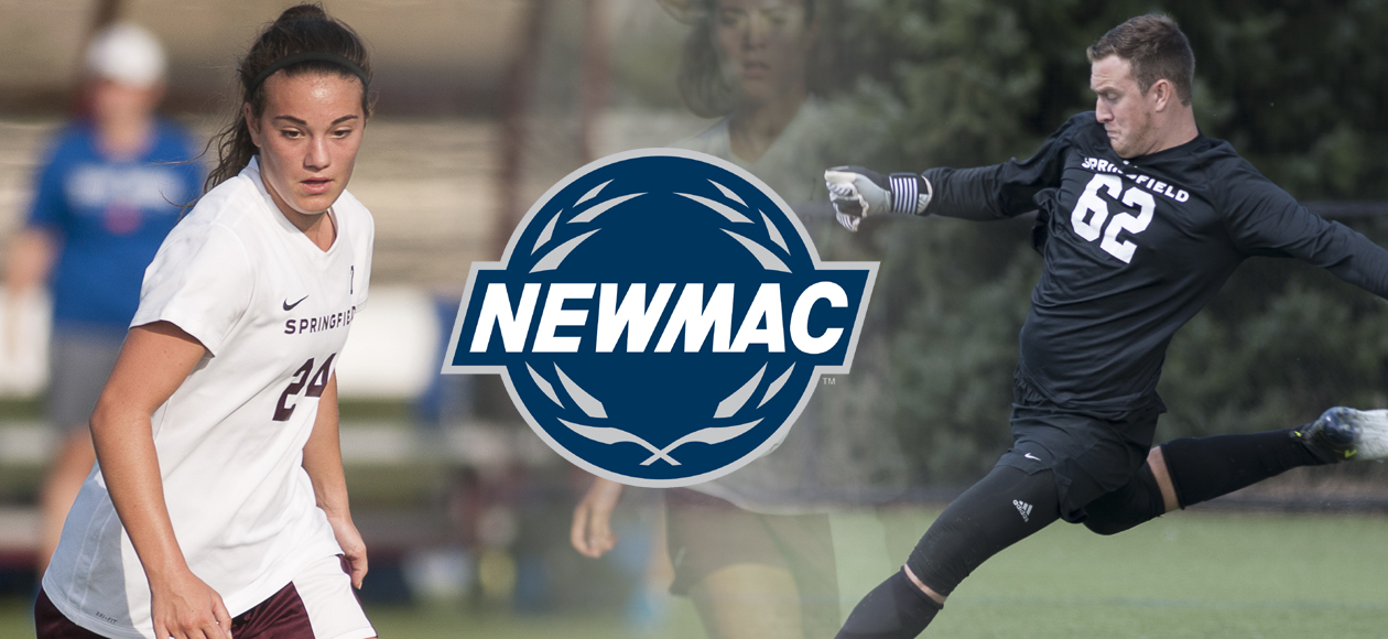 Luiz and Frank Collect NEWMAC Soccer Weekly Honors
