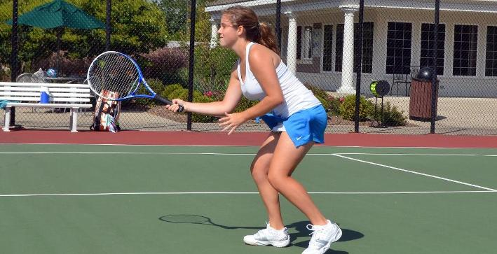 Knoll, Sapp lead Women's Tennis to pair of NACC victories