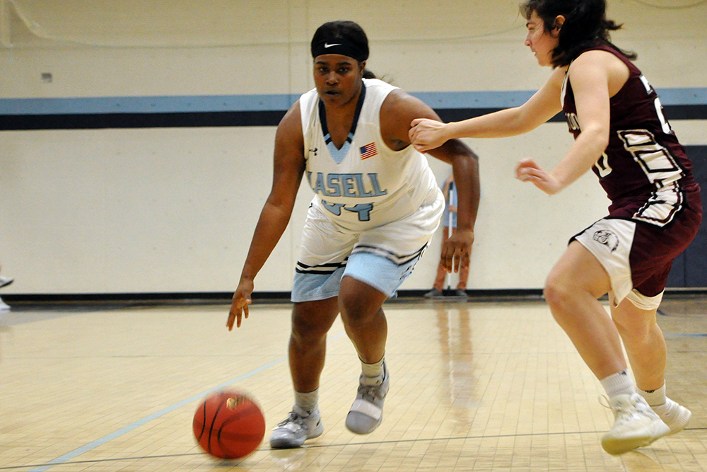 Lasell Women's Basketball comes from behind to defeat UMF