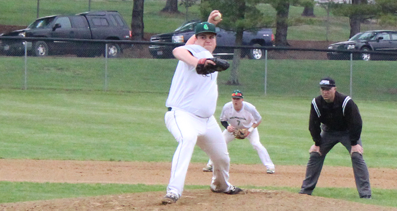 Young arms lead @DubC_Baseball to split