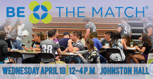 Moravian Football will host its 2018 Be The Match Bone Marrow Donor Registration Drive on April 18.