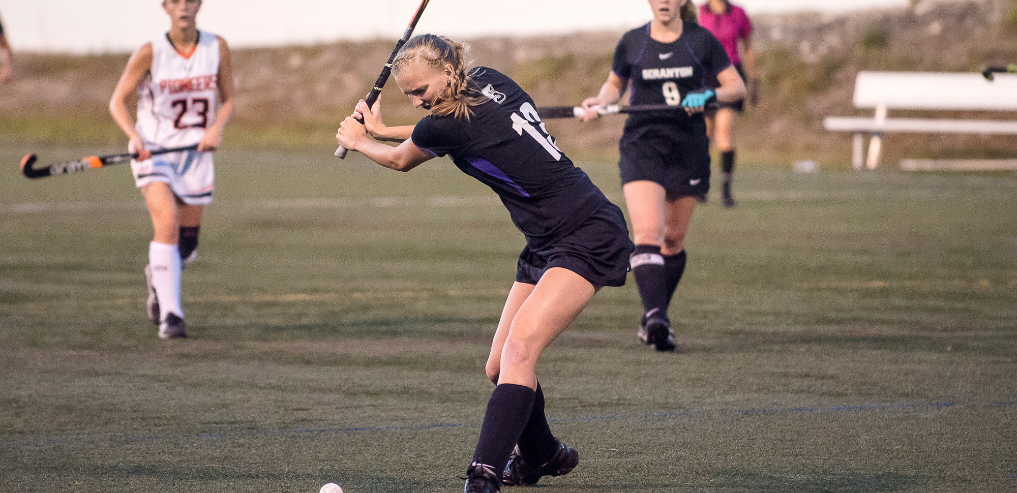 Junior Elizabeth Tolley scored the first goal of the contest in the sixth minute, giving the Royals a lead that would not relinquish in a 5-0 victory at home over Drew on Wednesday night.