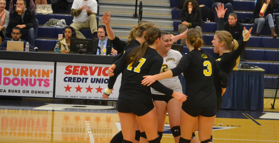 UNH Denies UMBC in Five-Set Thriller to Win America East Championship