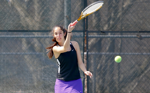 Junior Lisa-Marie Lanciotti was one of five Royals to earn two victories each on Thursday.