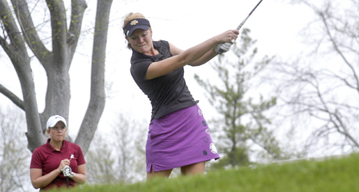 Rhyne paces Golden Eagle women's golf team on first day in EKU tourney