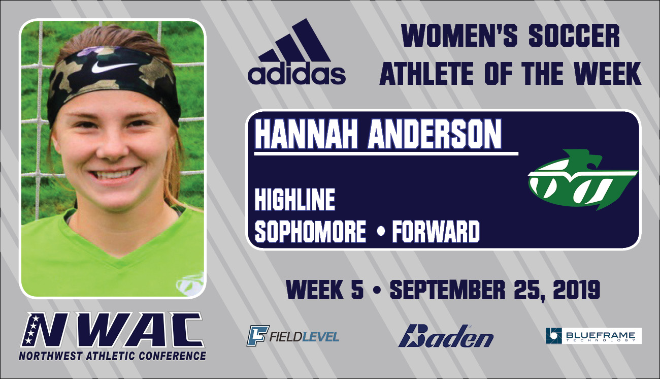 Adidas AOW graphic of Hannah Anderson