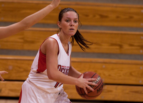 Devil Women Fall Short in Opener at Messiah, 57-48