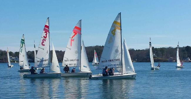 Dinghy Sailing Records Pair Of Top Six Finishes At Admiral Alymer's Trophy, New England Tournament