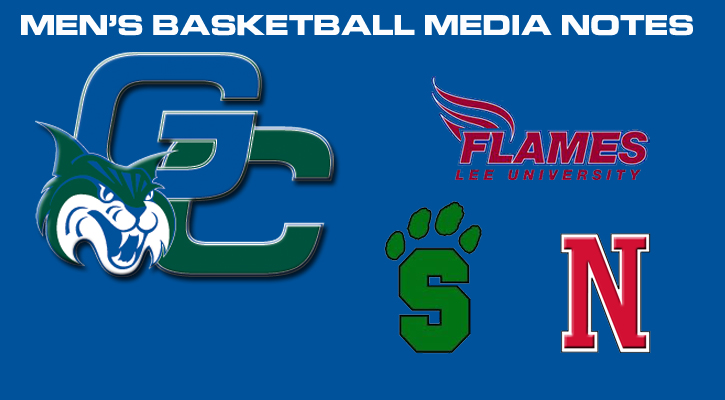 GC Men's Basketball Notes Posted Games #1 and #2