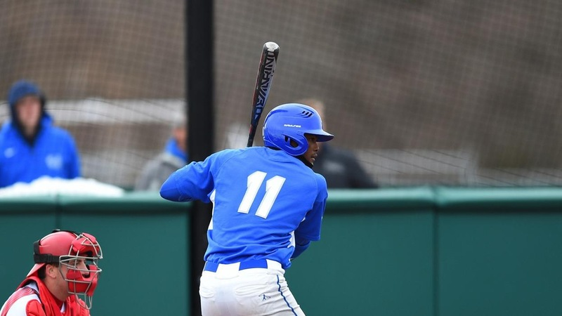 Baseball Drops Series-Opener to Bryant on Friday
