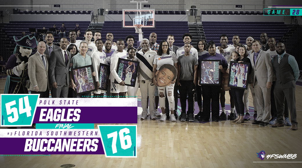 No. 3 #FSWMBB Picks Up 76-54 Win Over Polk State On Sophomore Day