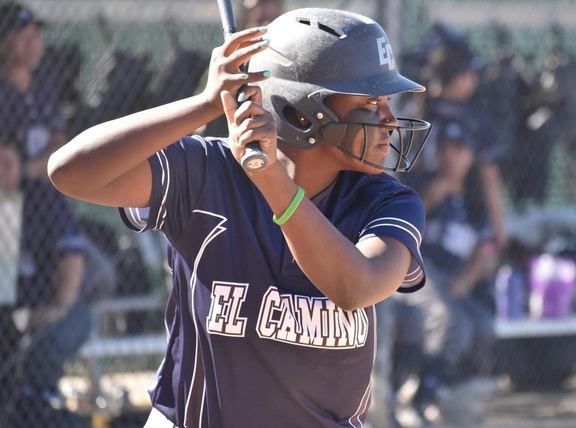 Softball Splits Pair of Games Against Cypress, Canyons