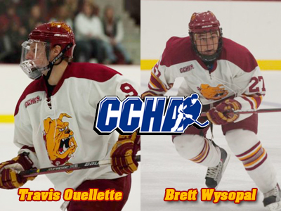 Ferris' Ouellette And Wysopal Earn CCHA Kudos