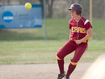 Senior outfielder Colleen Roney was one of four Bulldogs to register two hits in the opener at Northwood.