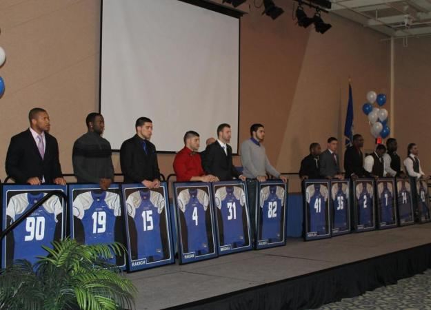 Football Honors Seniors at Annual Banquet
