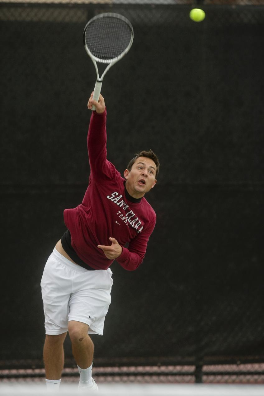 No. 64 Bronco Men's Tennis Defeats USF; Snaps Dons' 14-Match Doubles Point Win Streak