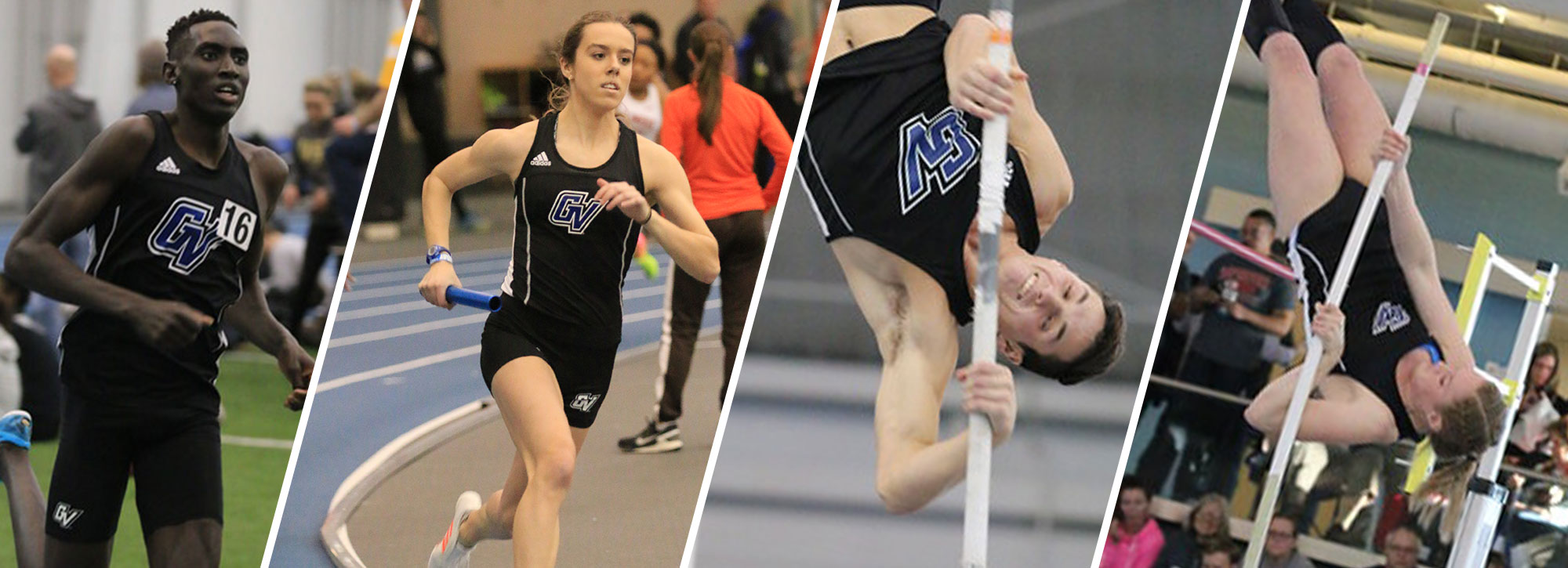 GVSU Lakers Sweep GLIAC Indoor Track Week 6 Honors