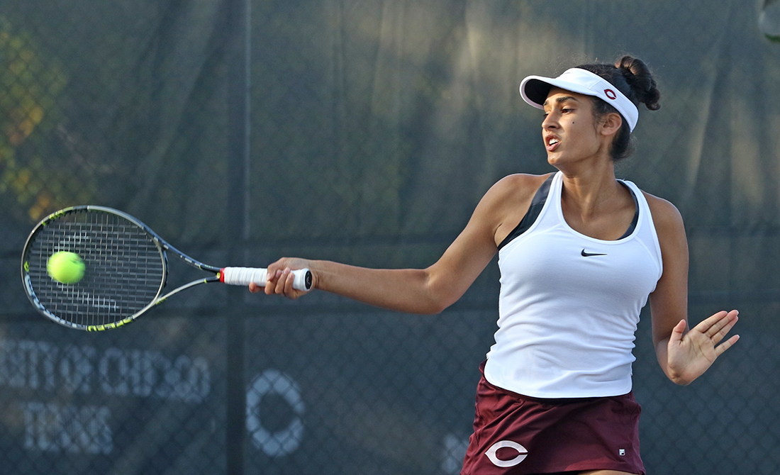 Handa Wins Opening Singles Match at ITA Oracle Cup