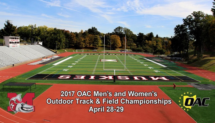 Muskingum to host OAC Men's and Women's Outdoor Track & Field Championships