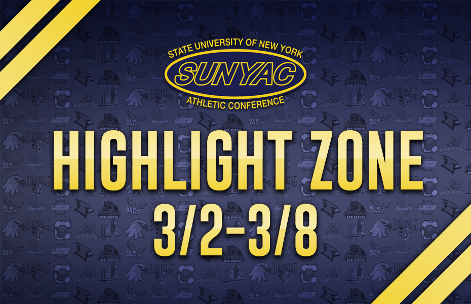 2020 SUNYAC Highlight Zone - March 2-8