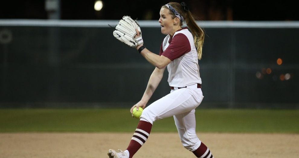 Softball Can't Hold a Pair of Leads Sunday Afternoon in Santa Barbara