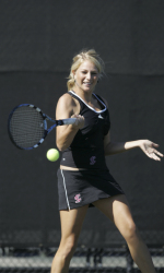 Women's Tennis Ends Fall Season on High Note