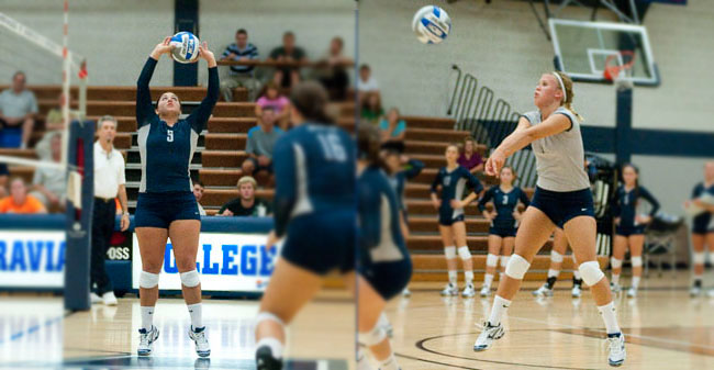 Krasley & Brown Rank in Latest NCAA Stats